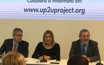 La organización de Up2U, en FITUR 2020